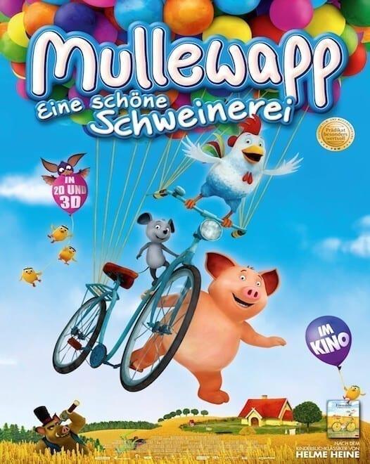 Trei prieteni aventuroşi - Petrecere în Mullewapp (2016)