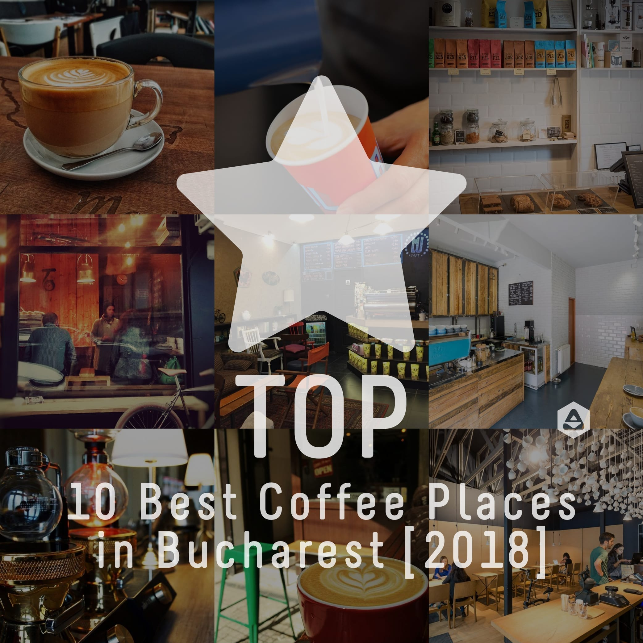 TOP 10 Best Places to Enjoy Coffee in Bucharest [2018]
