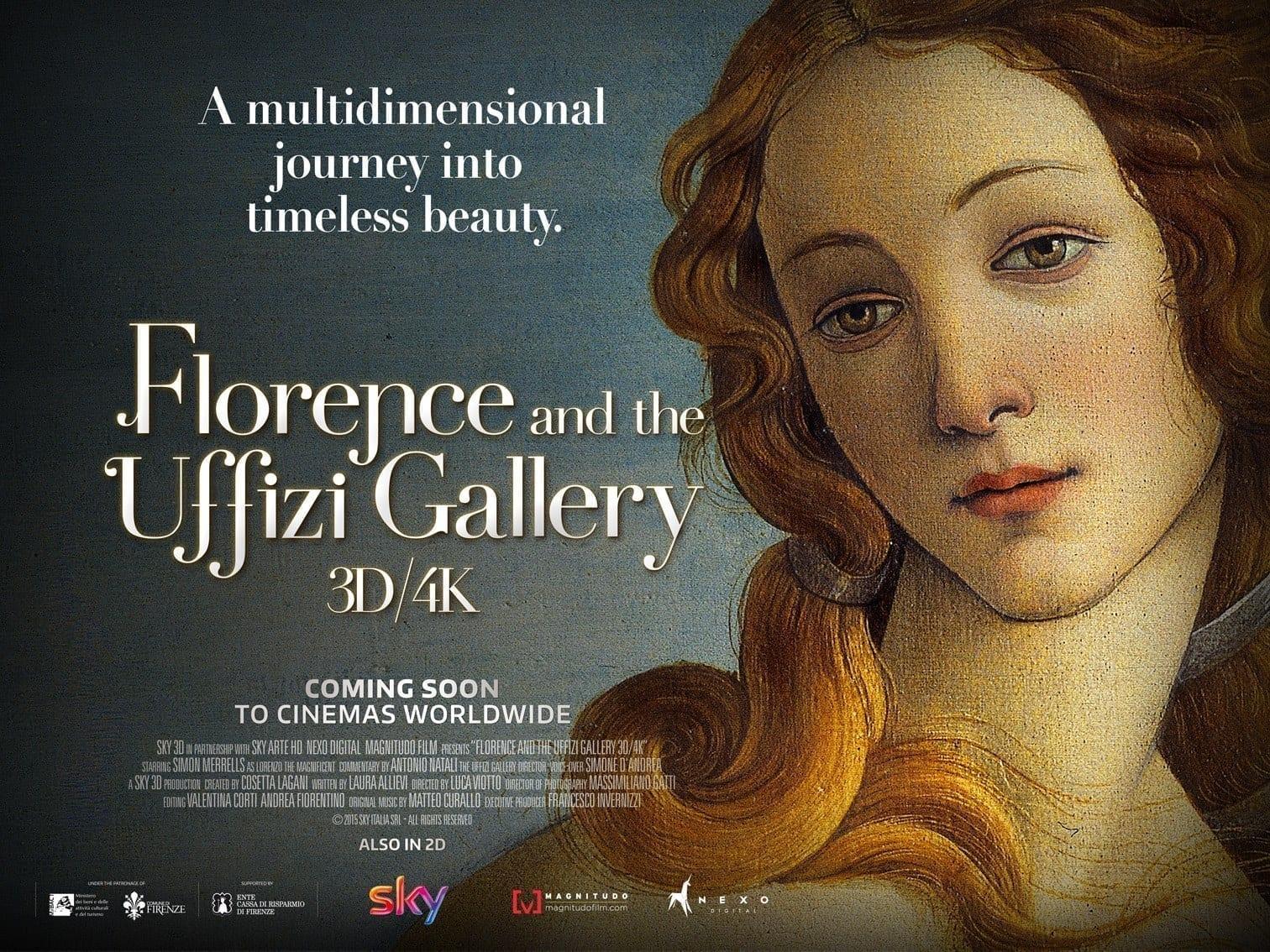 uffizi gallery 3d cinema