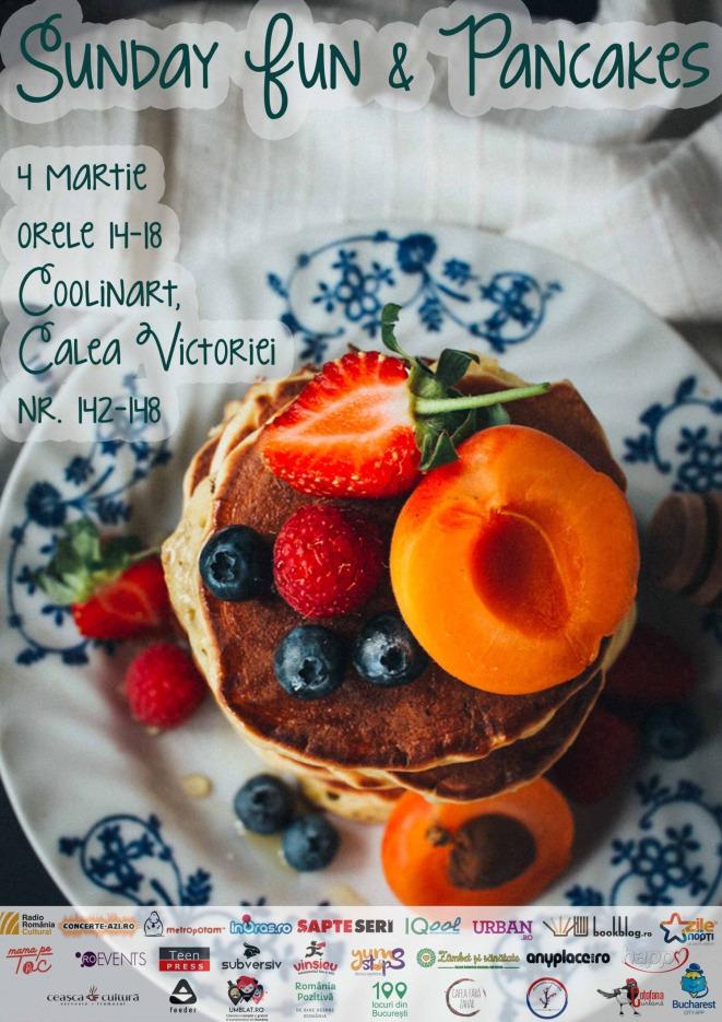 Sunday Fun & Pancakes