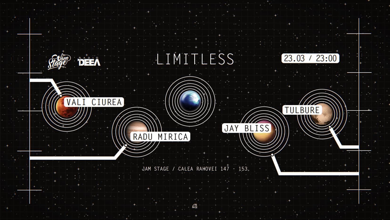 Limitless w Jay Bliss, Tulbure, Radu Mirica, Vali Ciurea