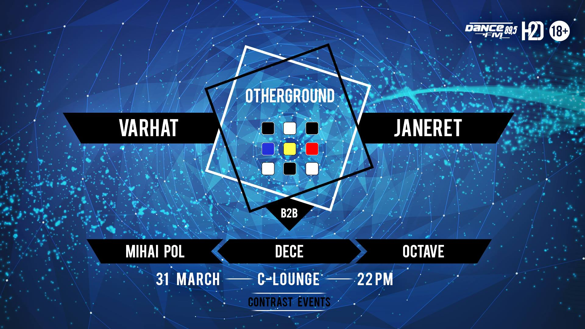 Otherground w. Varhat b2b Janeret x Mihai Pol x Octave x Dece.