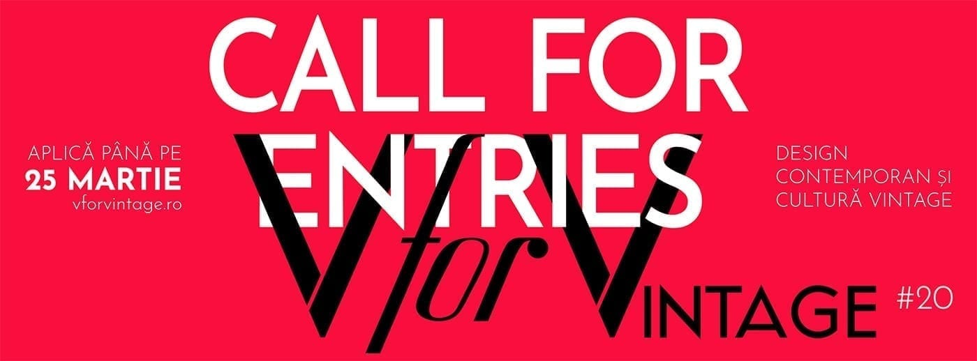 v for vintage 20 call for entries