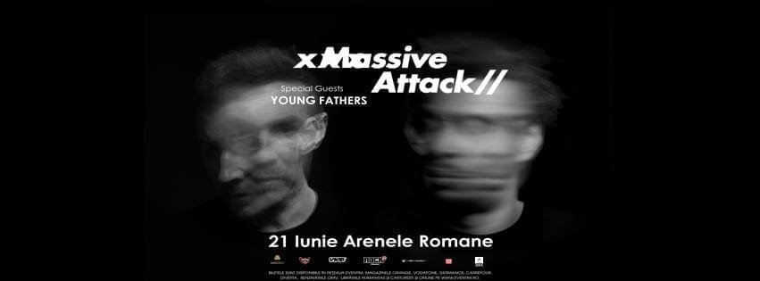 massive attack arenele romana 21 iunie 2018