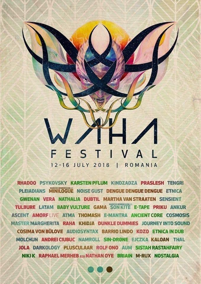 waha 2018 fresh lineup