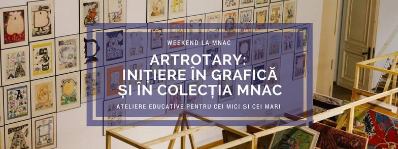 ArtROTARY Inițiere în grafică & colecția MNAC