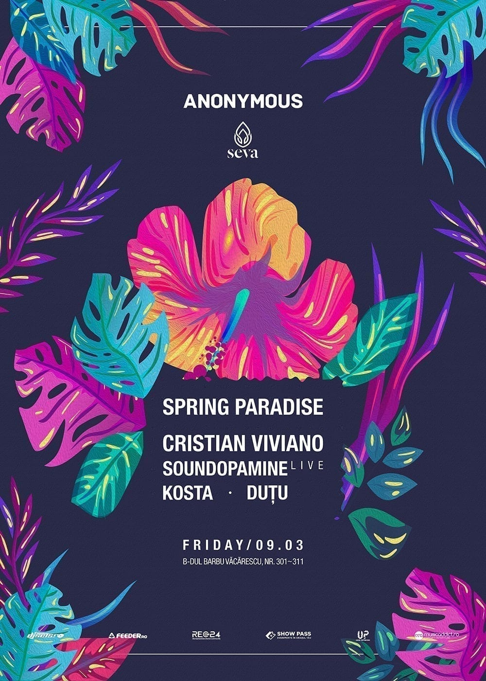 Anonymous presents: Spring Paradise