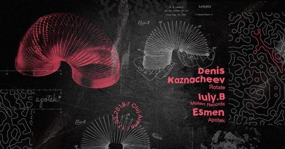 Apotek Showcase w Denis Kaznacheev, Iuly.B, Esmen