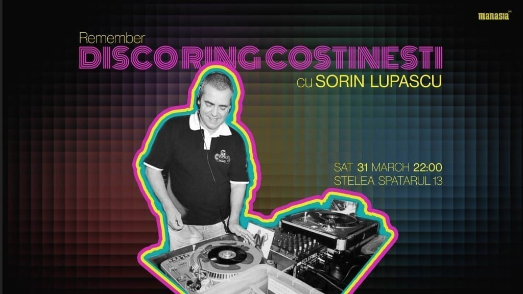DiscoRing Costinești with Sorin Lupașcu + vinyl session