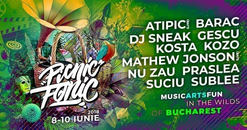 Picnic Fonic Festival 2018 Padurea Baneasa