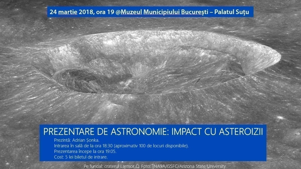 Prezentare de astronomie Impact cu asteroizii.