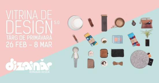 Târgul de primăvară Vitrina de Design 5.0
