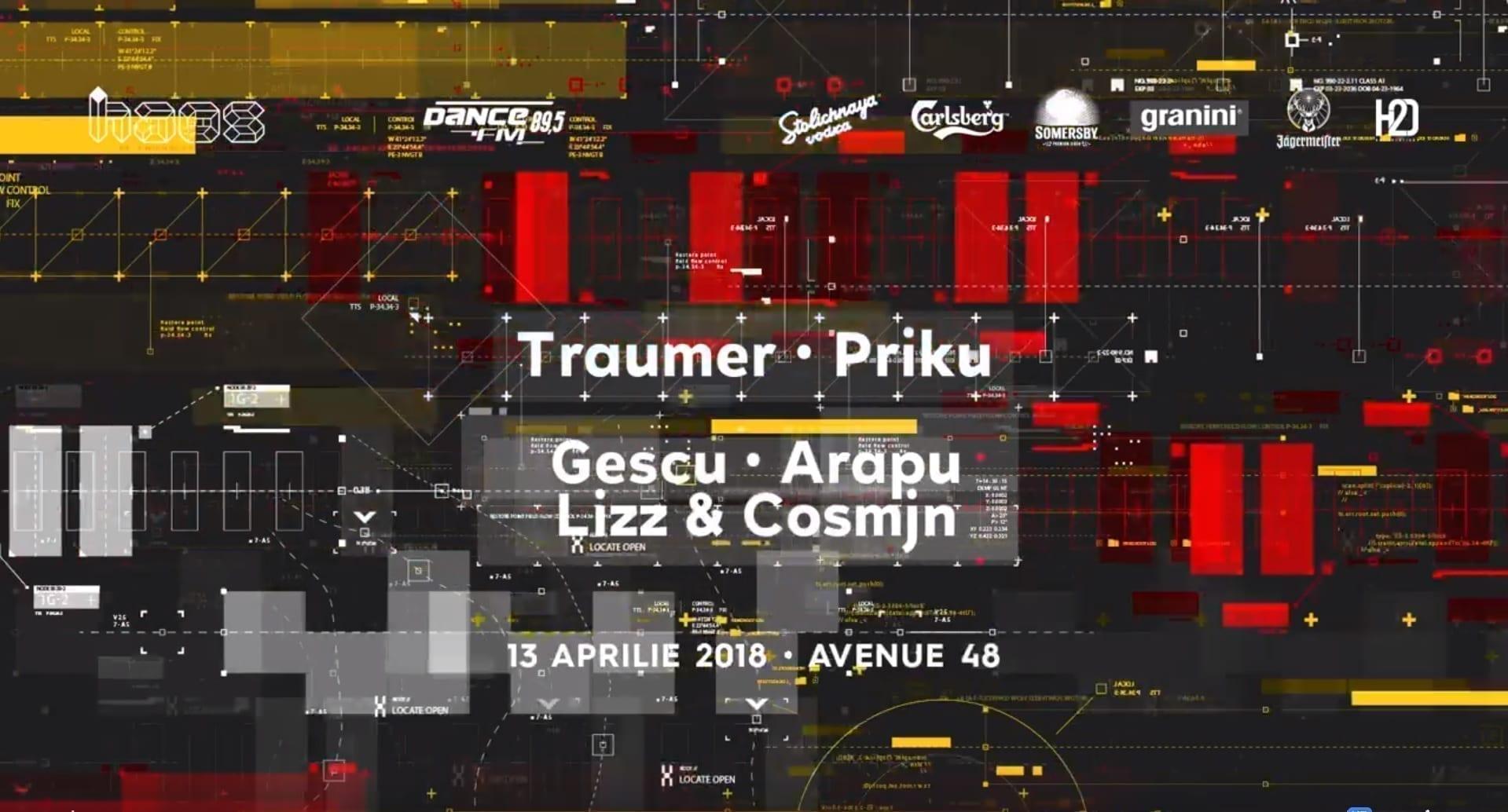 Traumer Priku Gescu Arapu Lizz & Cosmjn [at] Avenue 48