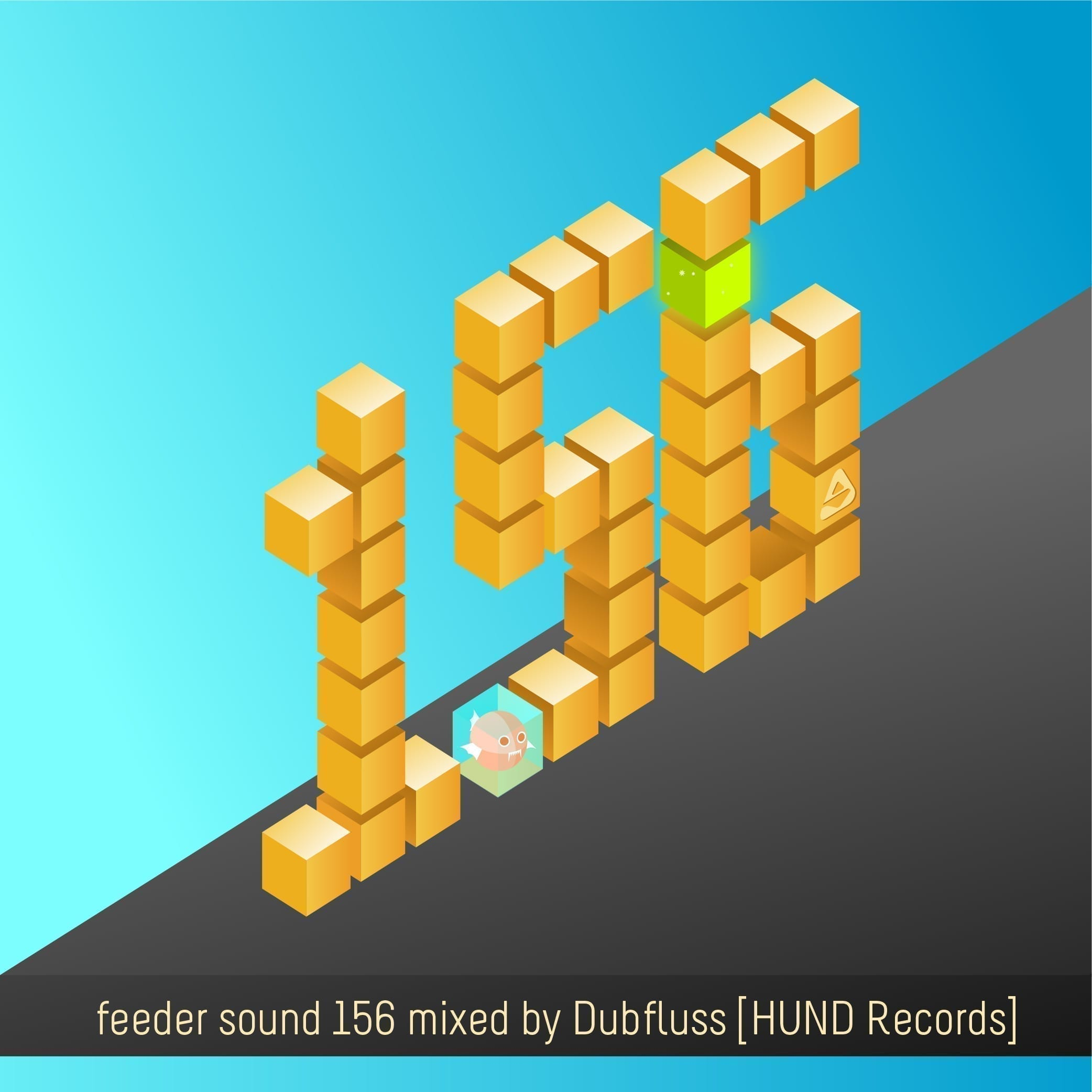 feeder sound 156 mixed by Dubfluss [HUND Records]