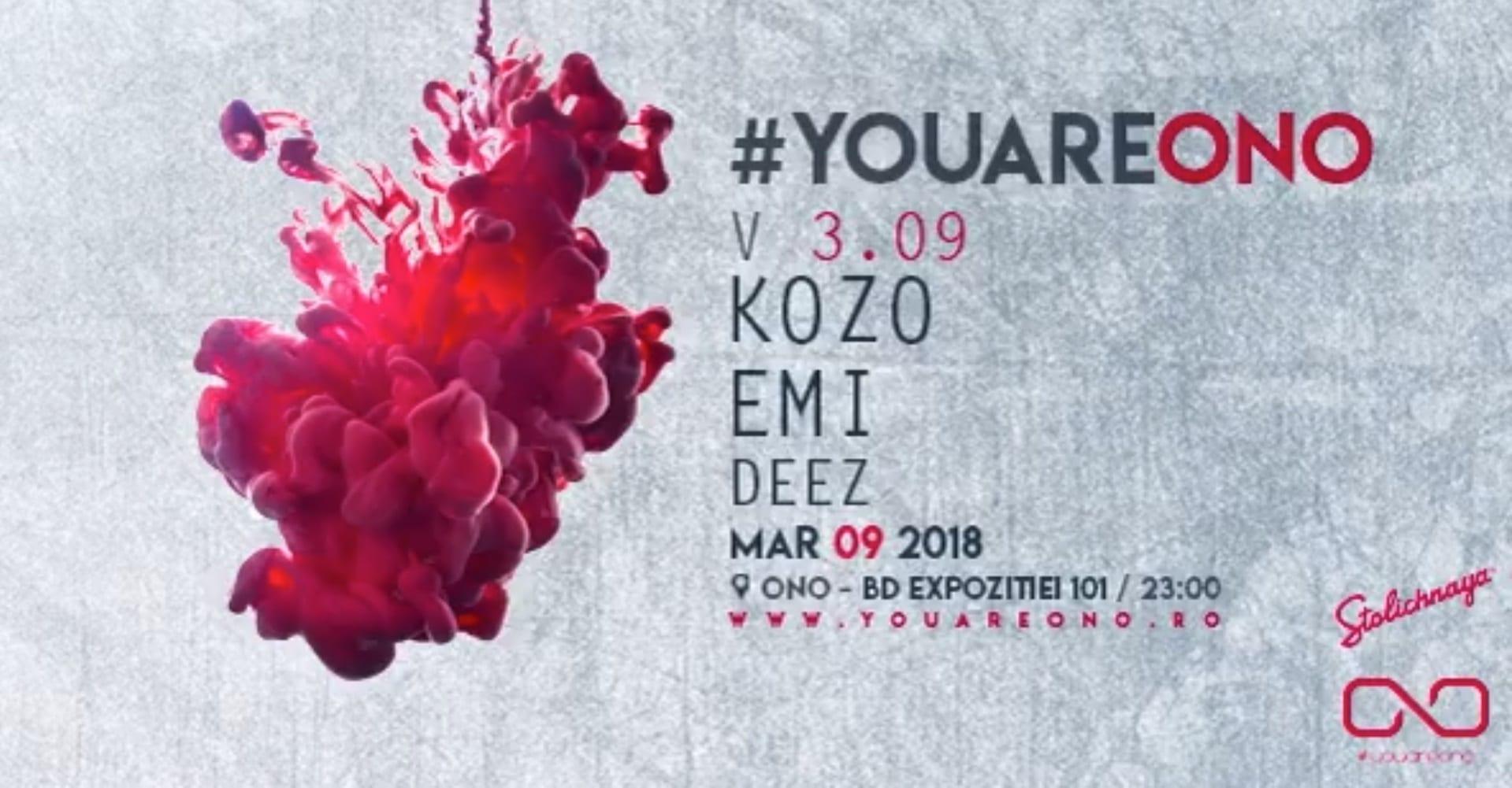 youareono v3 w Kozo x Emi x Deez