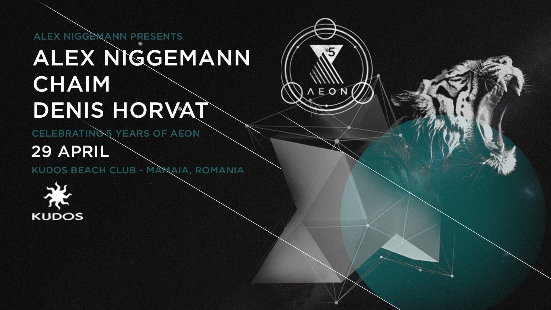 AEON showcase #5YearsAnniversary w: Alex Niggemann, Chaim & Denis Horvat