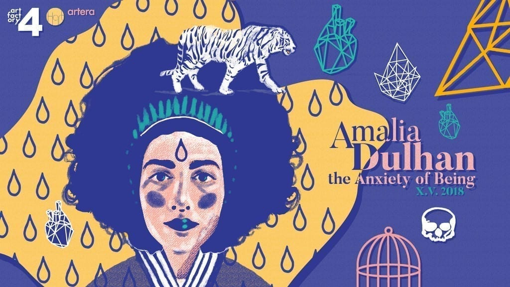 Amalia Dulhan - The Anxiety of Being / AF Residence, Artera