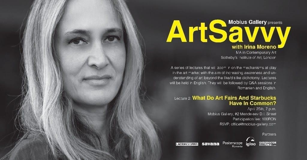 Art Savvy 2 with Irina Moreno