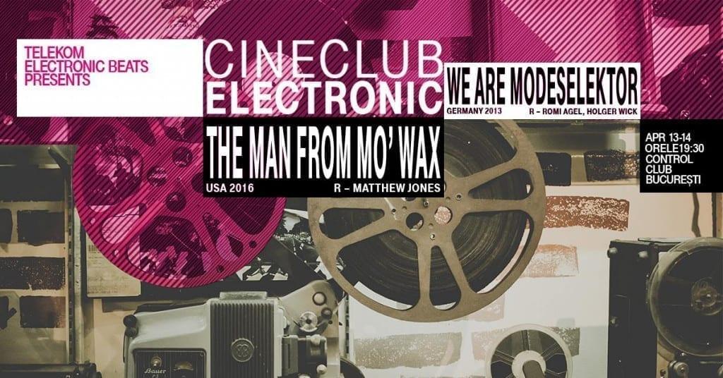 Telekom Electronic Beats și DokStation prezintă: documentare despre Modeselektor și James Lavelle, la Control Club