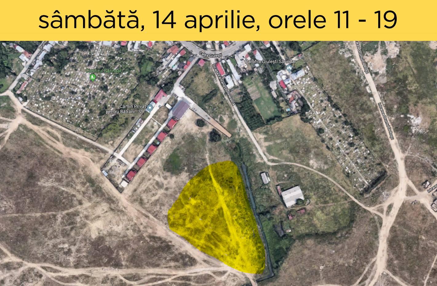 Plantăm Pădurea București - filtru între noi și gropile de gunoi