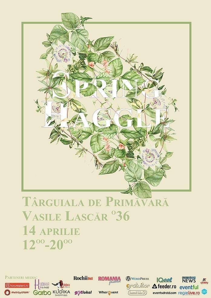 Spring Haggle - Târguiala de primăvară @Grădina sticlarilor