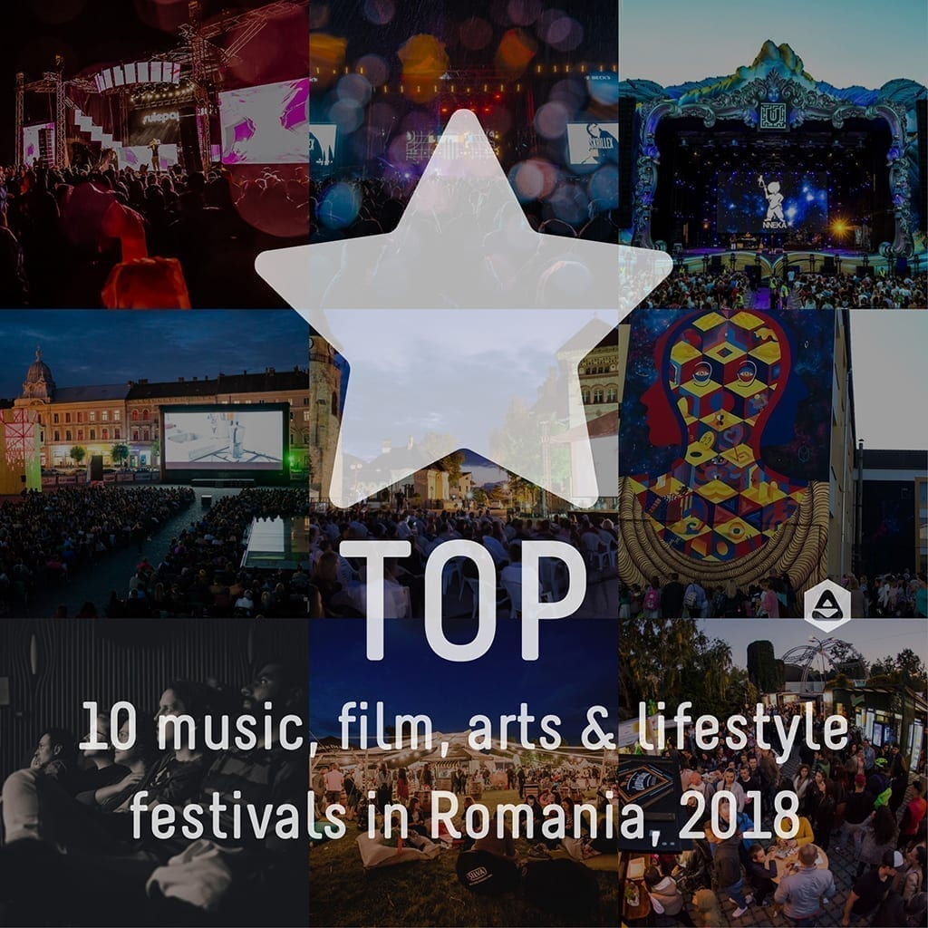 TOP 10: the most exciting music, film, arts & lifestyle festivals in Romania, 2018