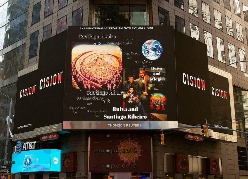 Advertising in New York city