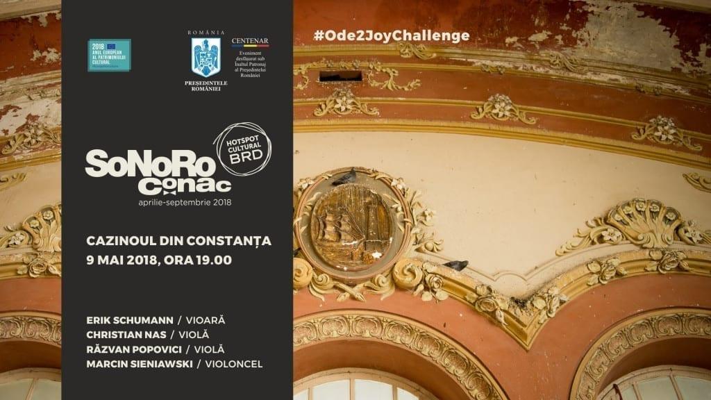 Concert SoNoRo Conac la Cazinoul din Constanța