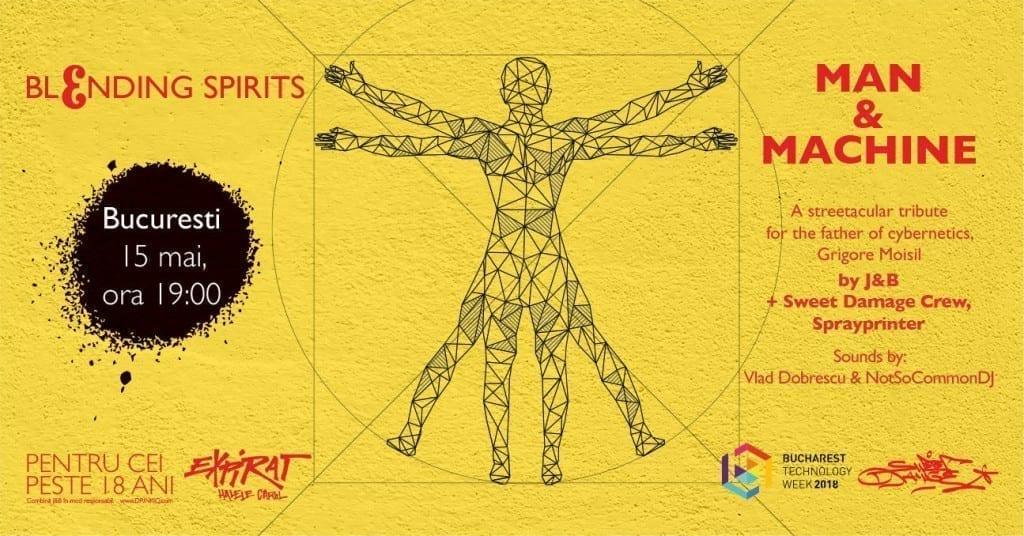 J&B Blending Spirits: Man & Machine