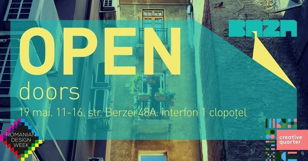 OPEN Doors @Weekend în Cartierul Creativ