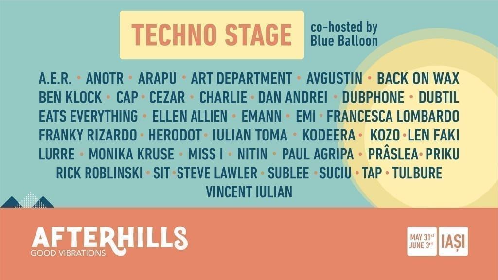 Techno Stage at Afterhills 2018