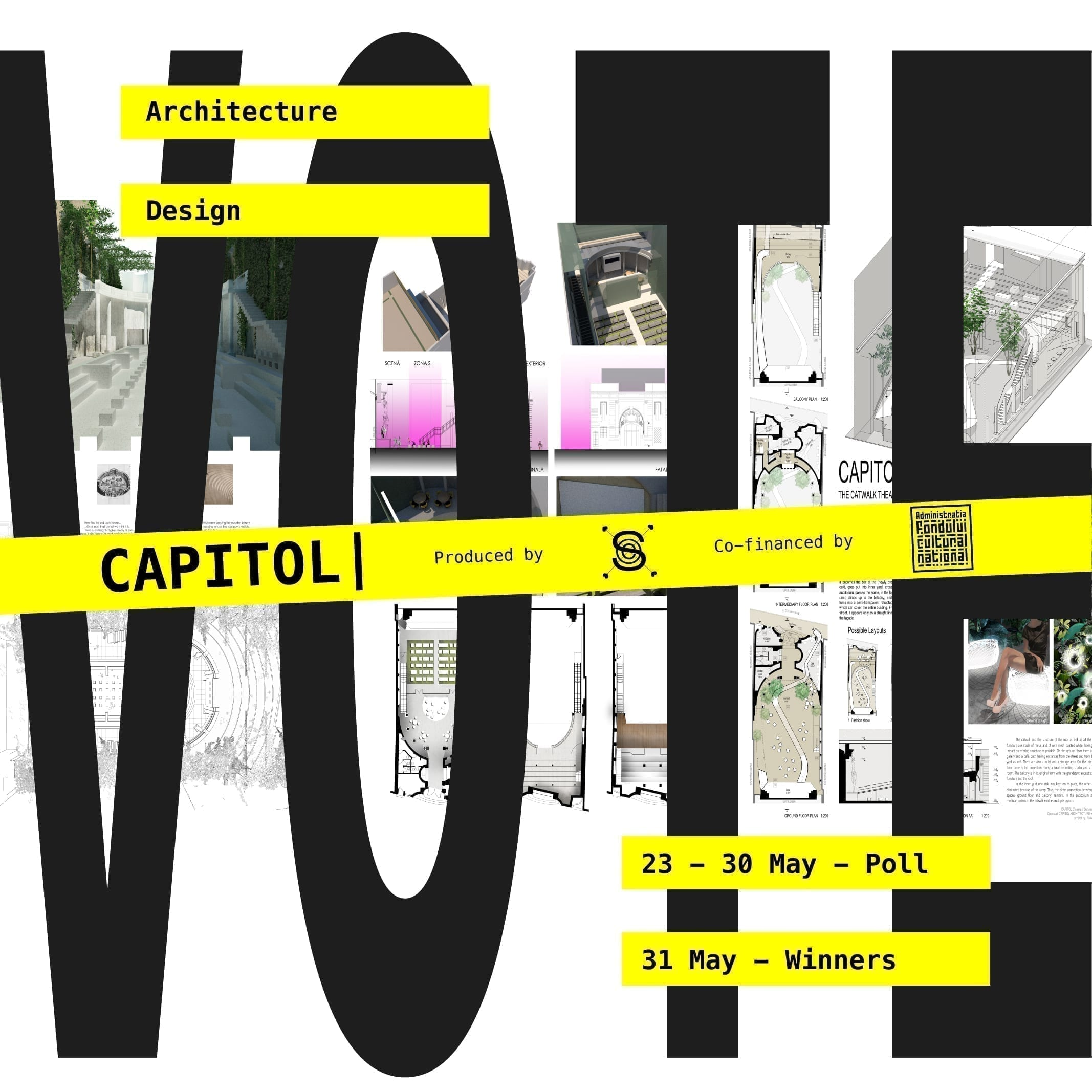VOTE: OPEN CALL ARCHITECTURE & DESIGN - Shape the future of CAPITOL