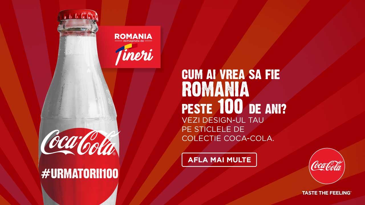 Challenge de la Coca-Cola: Romania reimaginata de tineri