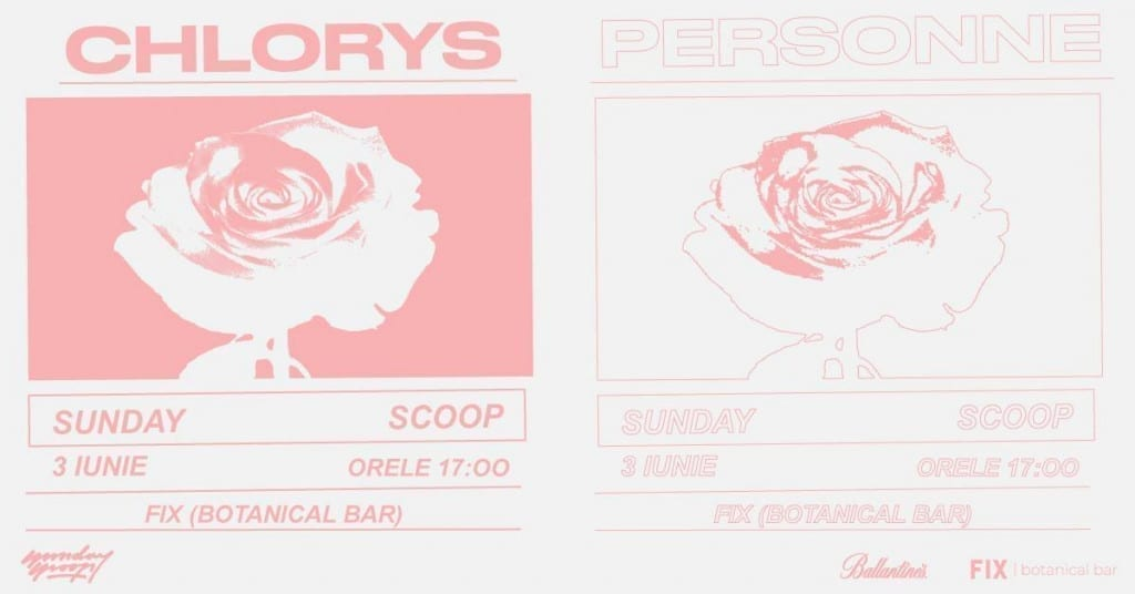 Sunday Scoop: Chlorys, Personne @ FIX Botanical Bar