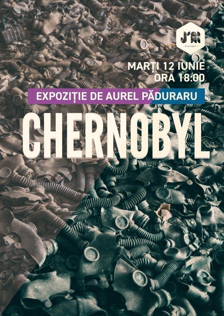 Chernobyl - Expoziție de Aurel Păduraru - grădina J'ai Bistrot