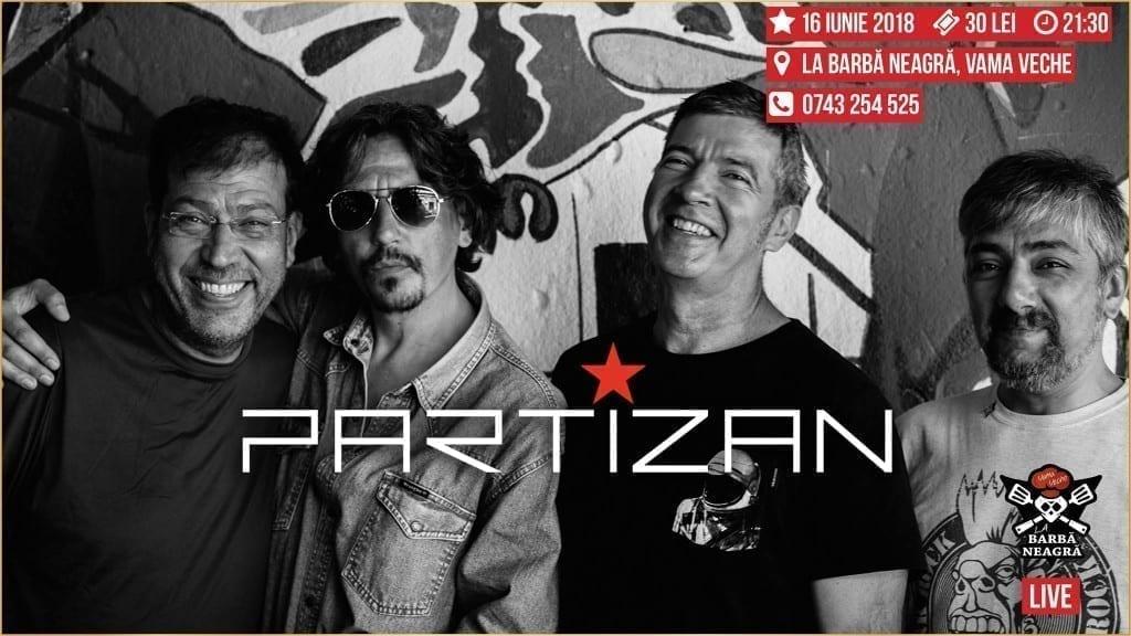 Concert Partizan la Barbă Neagră Vama Veche