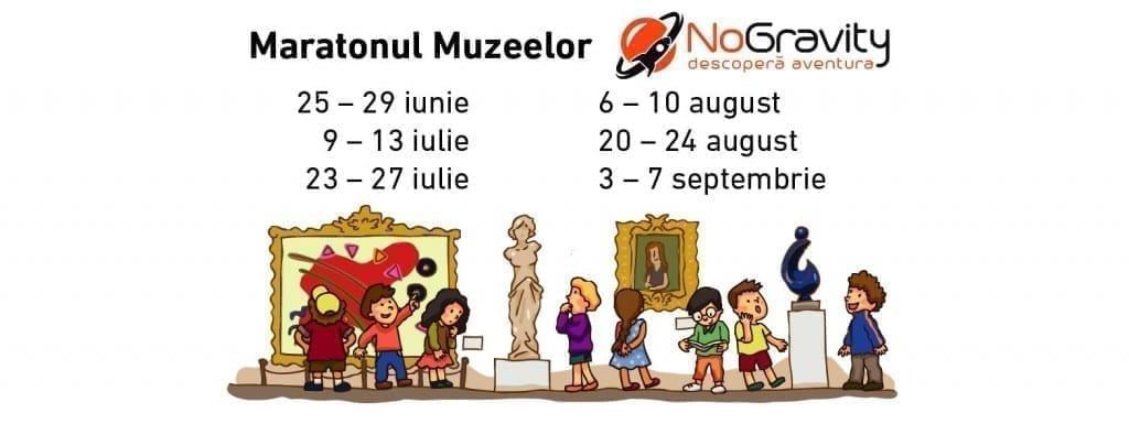 Maratonul Muzeelor NoGravity 1, 25-26 iunie 2018