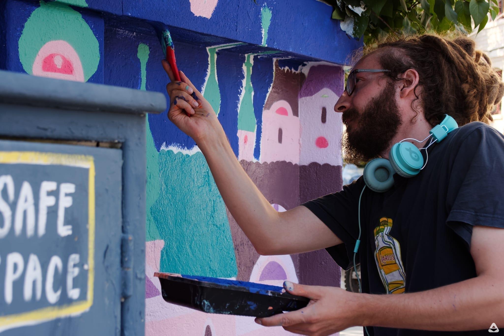 Lucian Niță – KSELEQOQYNQYSHY Casele cu ochii închiși Street Delivery Day 2