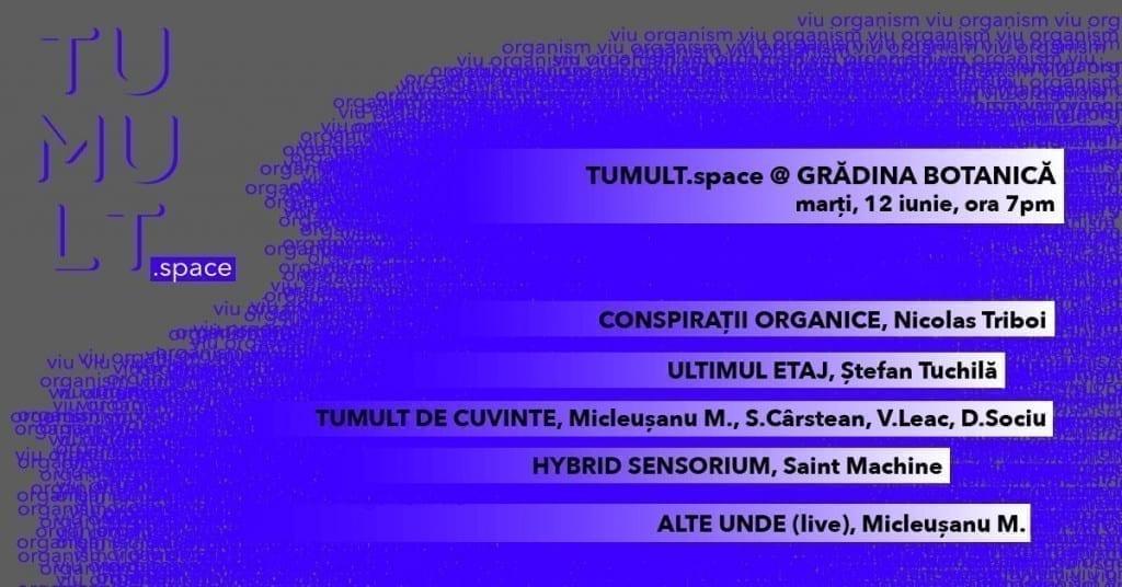 TUMULT.space la Grădina Botanică