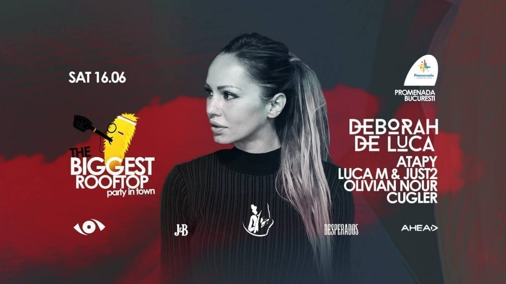 The Biggest Rooftop Party In Town w/ Deborah De Luca