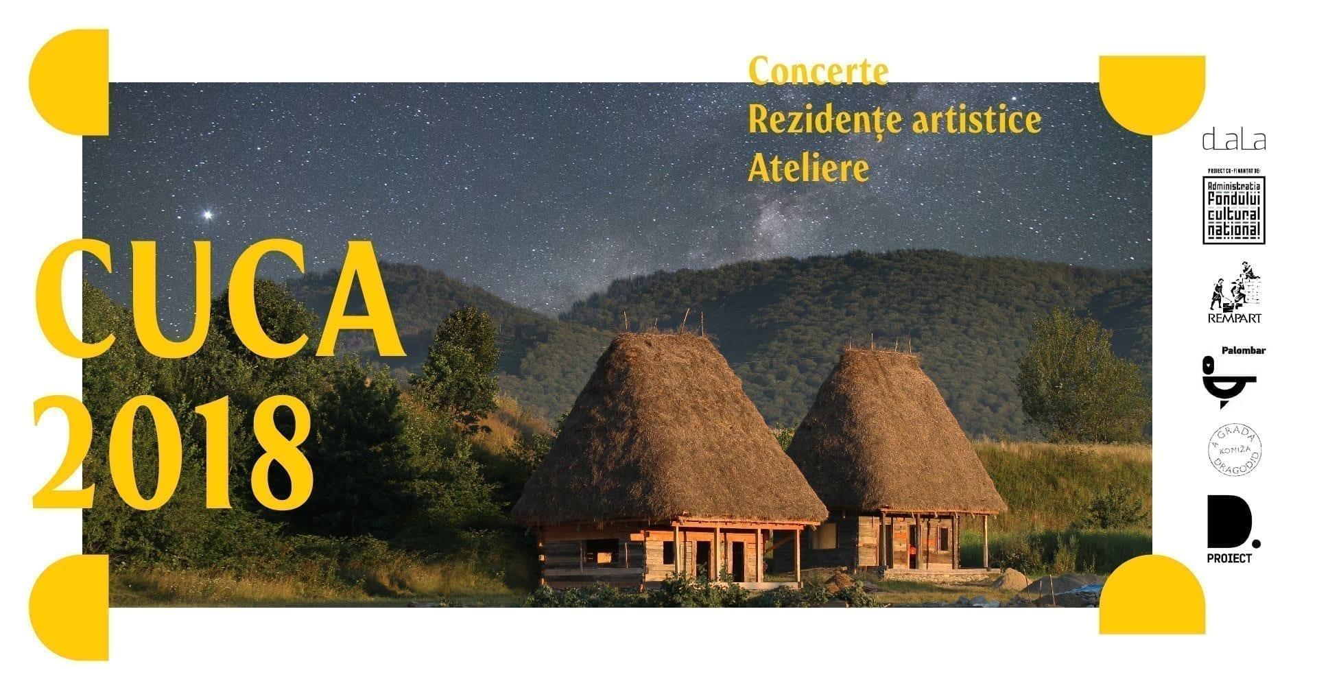 CUCA #2018 - 17-19 august - Cârțișoara, județul Sibiu