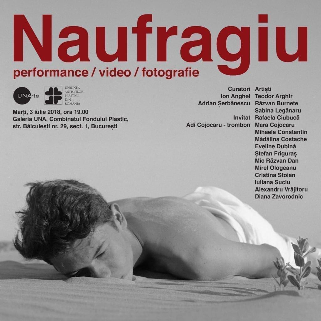 Naufragiu. w/ curatori Ion Anghel si Adrian Şerbănescu @ Combinatul Fondului Plastic