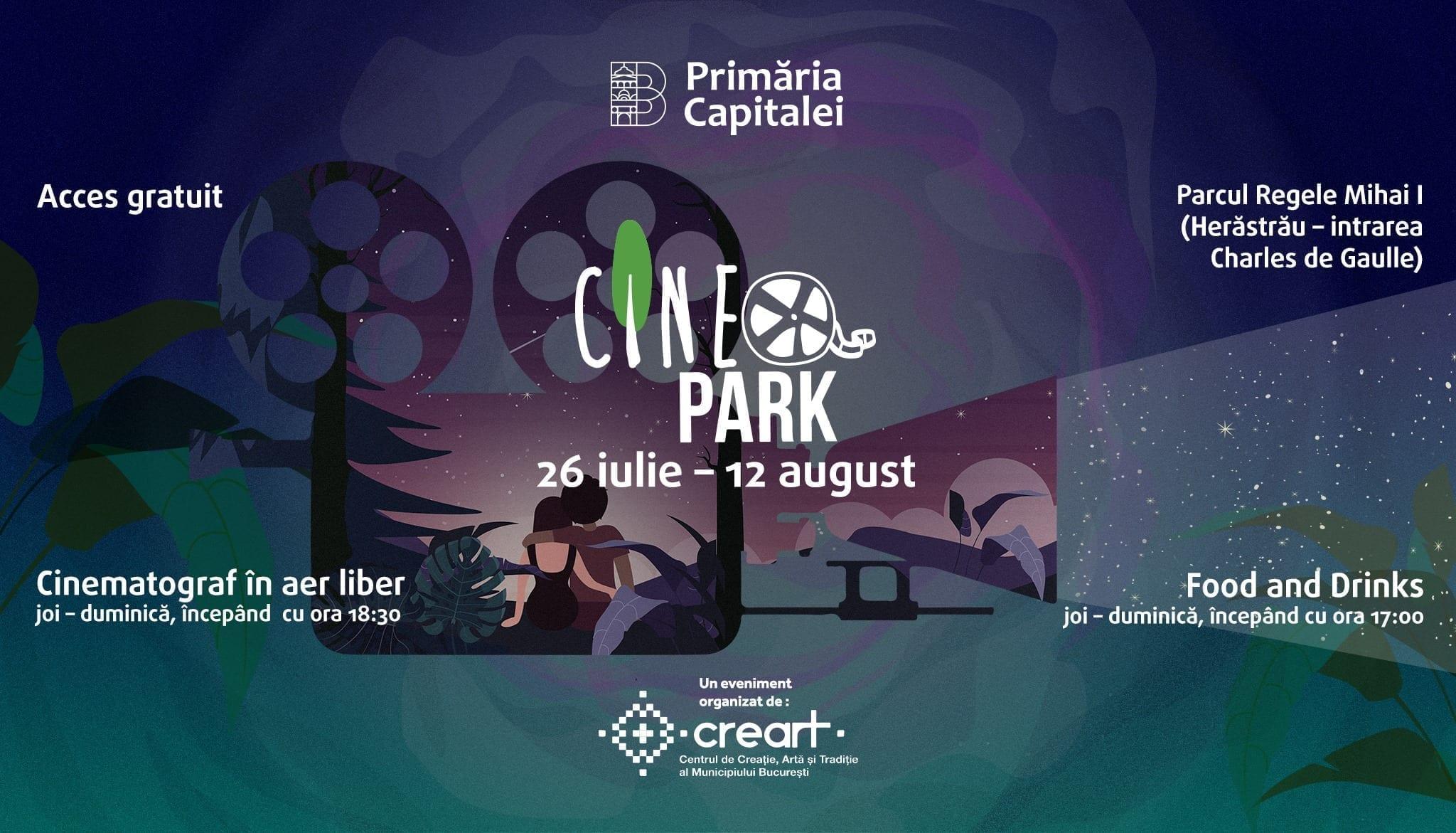 CineParK - cinematograf în aer liber
