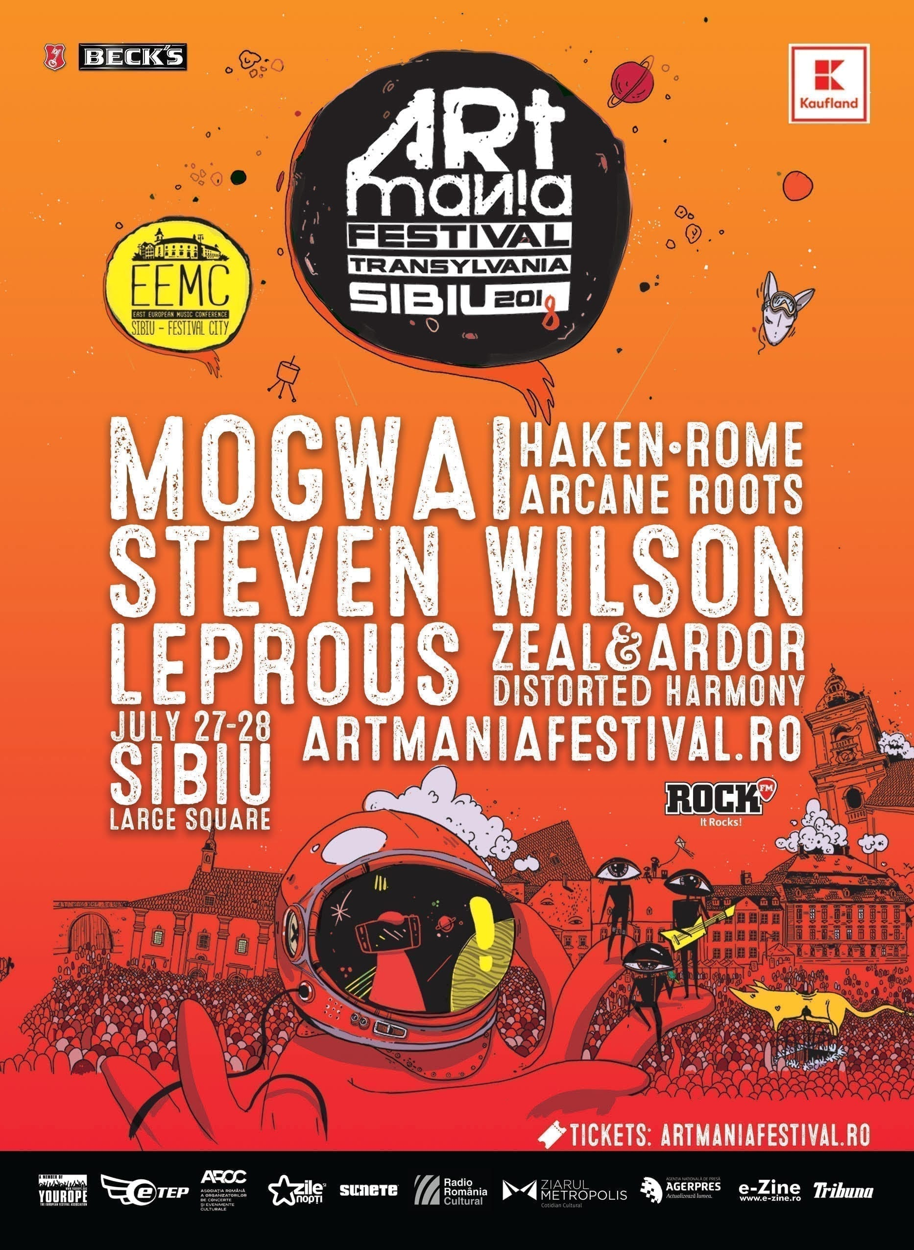 ARTmania Festival 2018 @ Piața Mare, Sibiu