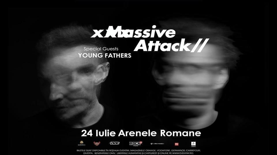 Massive Attack// Arenele Romane//24 Iulie 2018//Opening Act Young Fathers