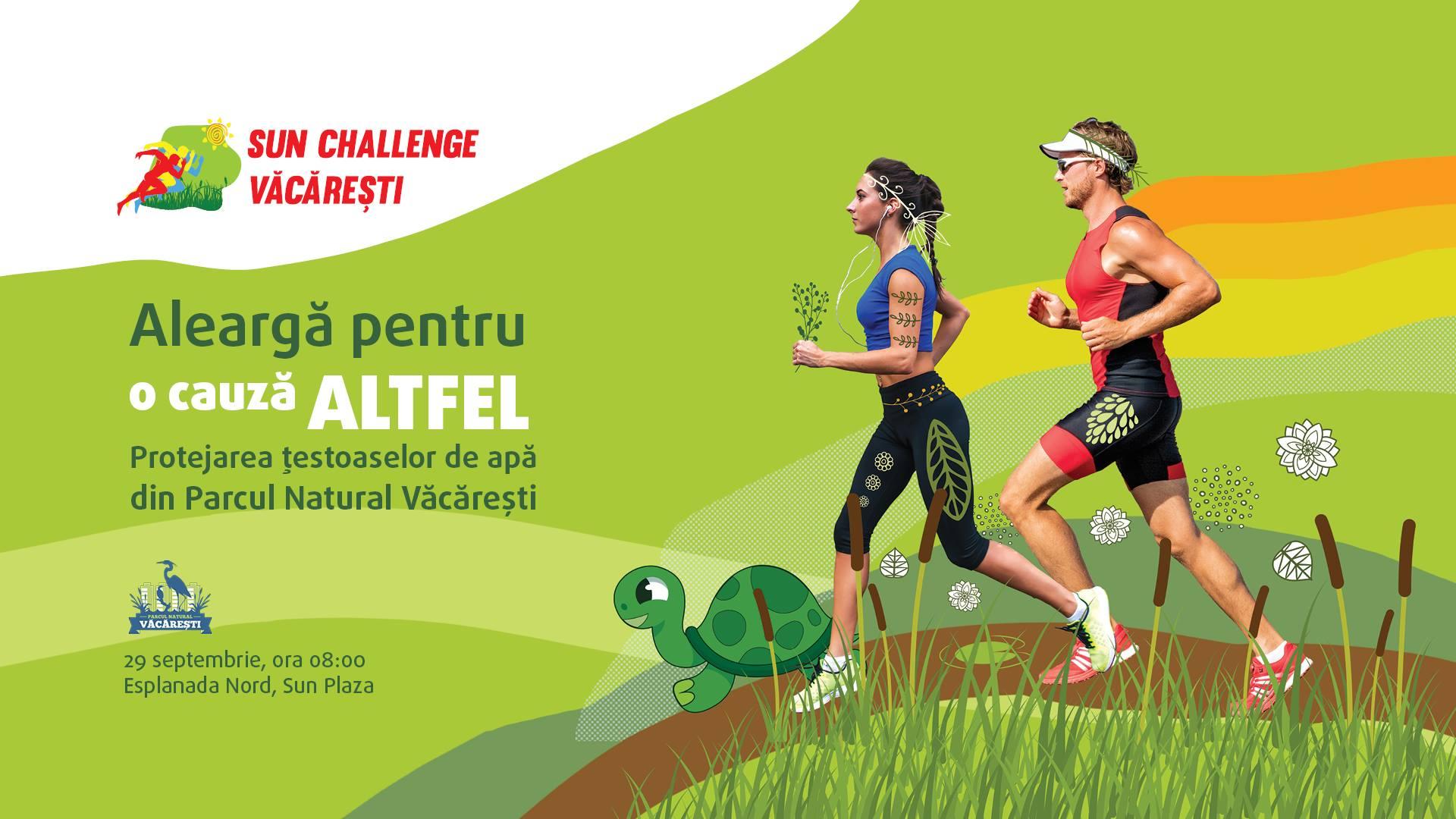 Aleargă pentru țestoasele din Parcul Natural Văcărești!