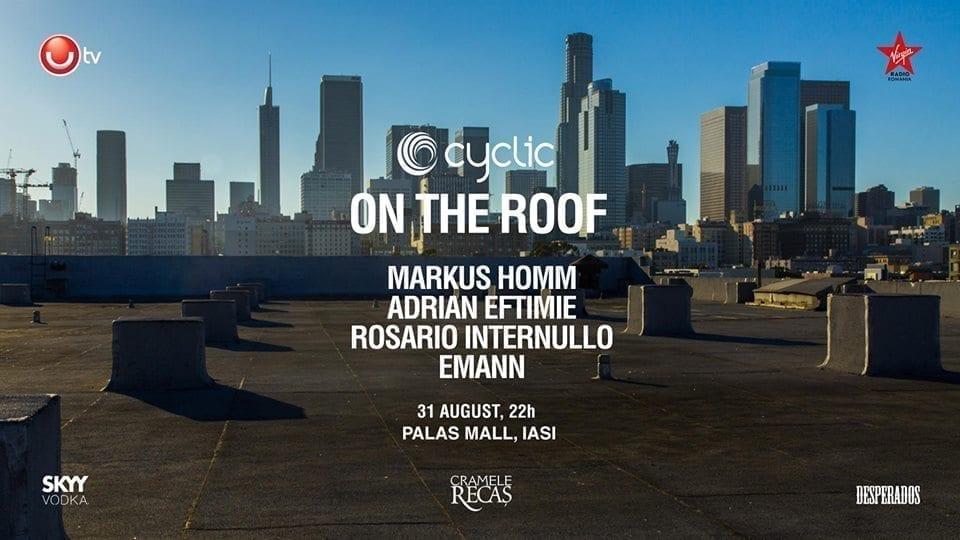 Cyclic Rooftop w Markus Homm, Adrian Eftimie, Rosario Internullo