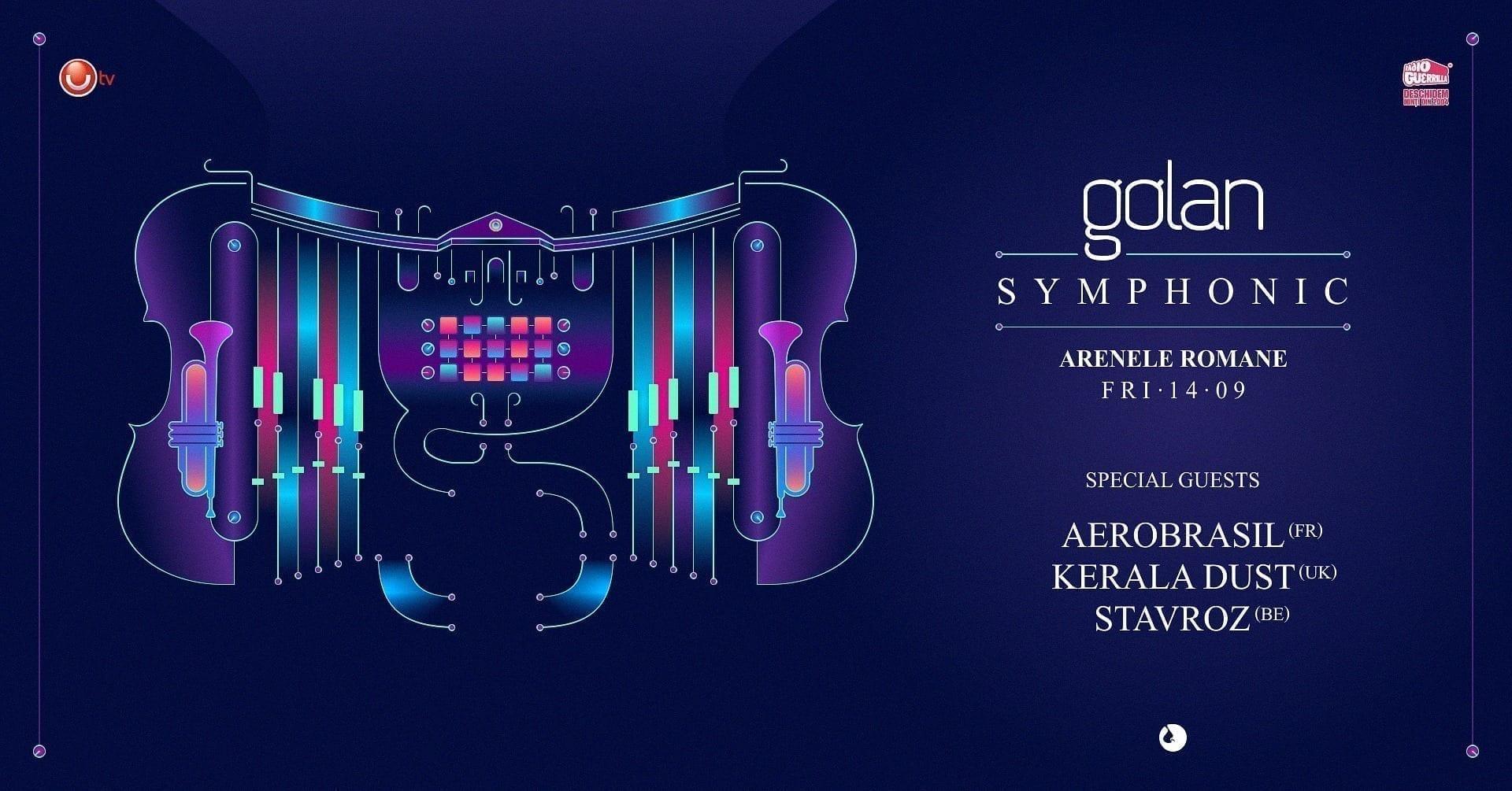 Golan Symphonic 3.0 with Aerobrasil, Kerala Dust, Stavroz live