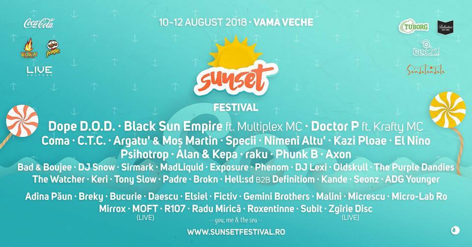 Sunset Festival 2018