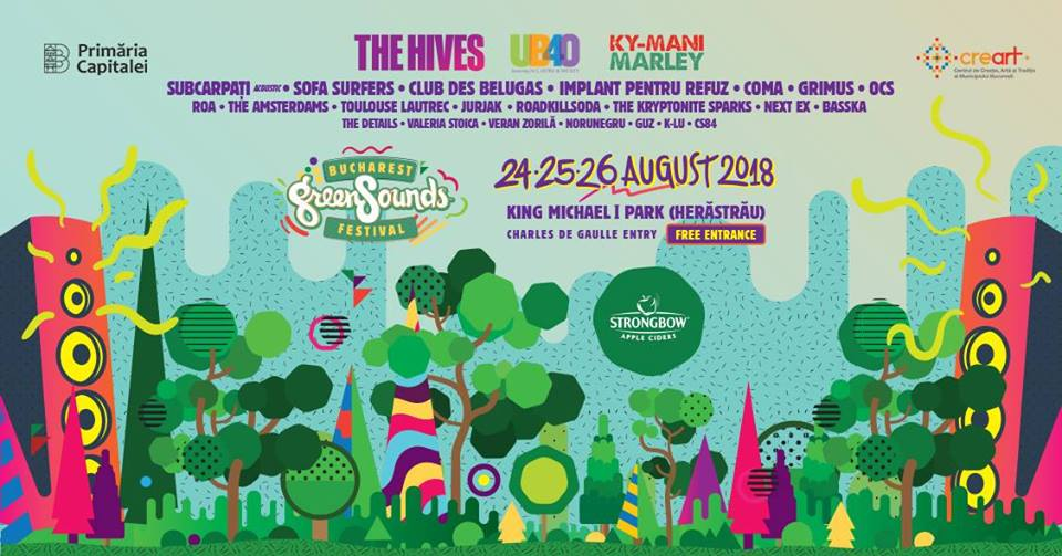 Bucharest GreenSounds Festival 2018